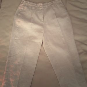 Michael Kors linen 7/8 pants